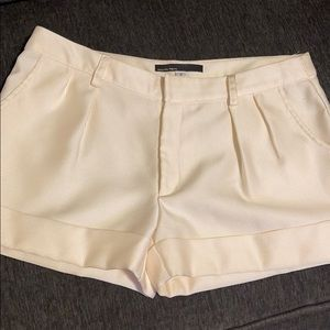 Calvin Tran silk dressy shorts
